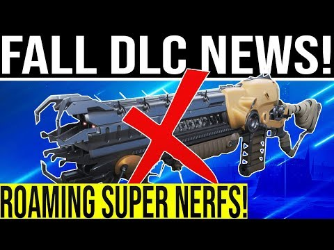 Destiny 2. FALL DLC ROAMING SUPER NERF! Lord Of Wolves Nerf, Secret Nameplate, Player Base Explodes