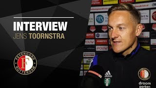 Jens Toornstra na rentree: 'Blij dat ik terug ben'
