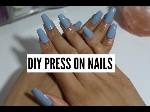DIY Nails (no acrylic/no gel)