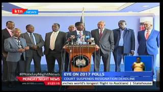 Civil servants who want elective political seats come August will not have to resign yet