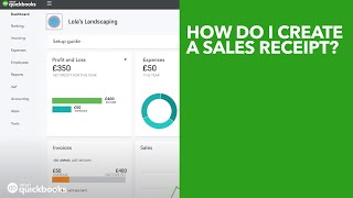 How to Record a Sales Receipt