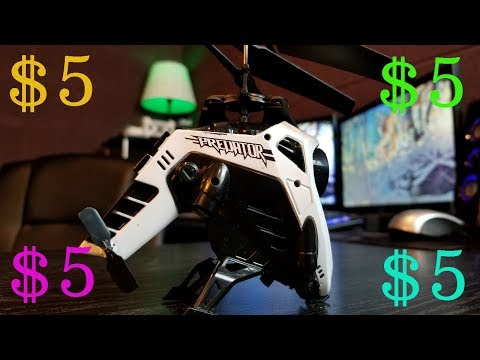 $5 Dollar Helicopter/Nanocopter From Five Below – Review & Test Flight