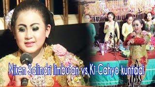 Niken Salindri  Limbu'an Vs Dalang Ki Cahyo Kuntadi