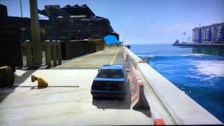 GTA 5 Online - Drifting - Gymkhana GRID
