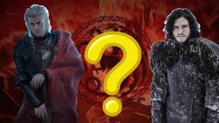 WHY IS JON SNOW DARK HAIRED (Despite being a Targaryen) ? | REASON