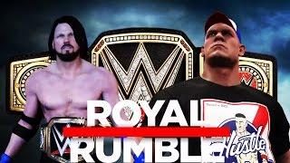 wwe-2k17-john-cena-vs-aj-styles-promo-royal-rumble-2017-wwe-championship-match