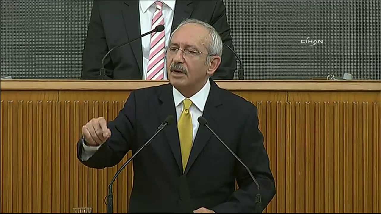 CHP Lideri Kemal Kılıçdaroğlu grup toplantısında TV havuzuyla ilgili ses kayıtlarını dinletti