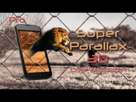 Video of Super Parallax 3D Free LWP