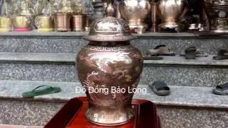 Chóe Đồng Khảm Ngũ Sắc 38cm