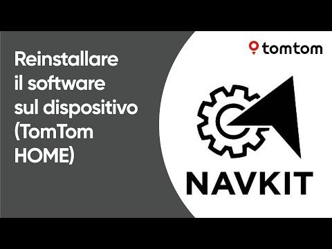 Come reinstallare il software sul tuo dispositivo di navigazione utilizzando TomTom HOME