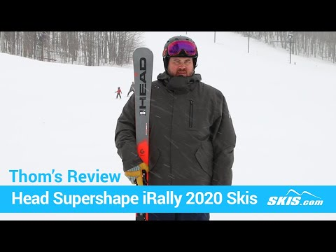 Video: Head Supershape iRally Skis 2020 20 40