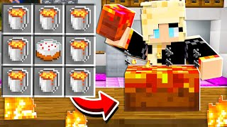 7 Things to NEVER Craft with Lava! - Minecraft