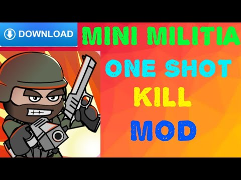Mini Militia Apk One Shot Kill Hack Version Doqnlo ...