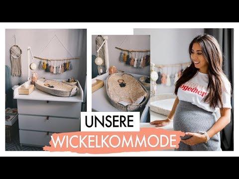 UNSERE WICKELKOMMODE & WICKELTISCH EINRICHTEN BABY#2   IKEA MALM
