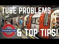 HOW TO GET AROUND LONDON | LONDON UNDERGROUND GUIDE | TUBE PROBLEMS & TOP TIPS!