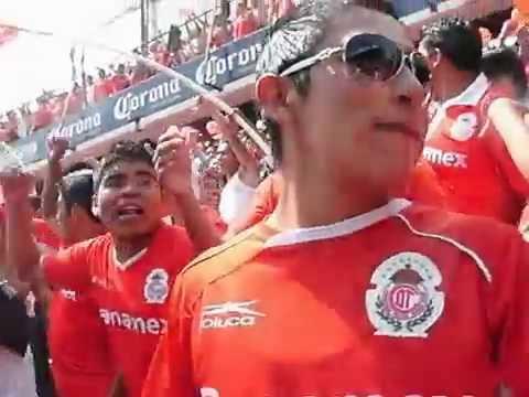 """porra del toluca dale dale roooo"" Barra: La Perra Brava • Club: Toluca"