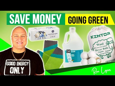 Save Money Going Green (Best Eco Friendly Products Ideas)