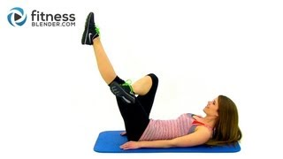 10 Minute Abs & Obliques Workout - Lean Toned Stomach Workout