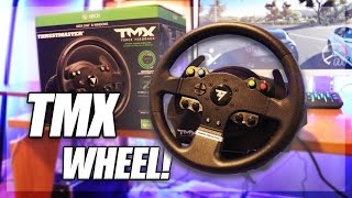 THEY SENT ME THIS! (Thrustmaster TMX Wheel Unboxing & Review)