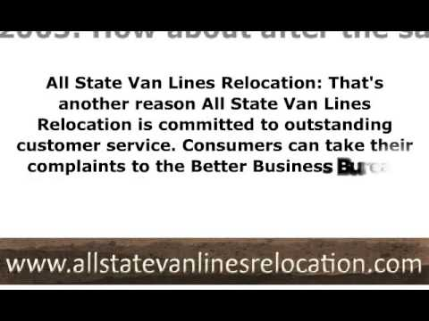 All State Van Lines - Horribly incompetent and expensive move to Florida