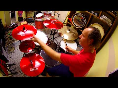 Paiste ColorSound 900 red hi-hat crash splash pack cymbal review