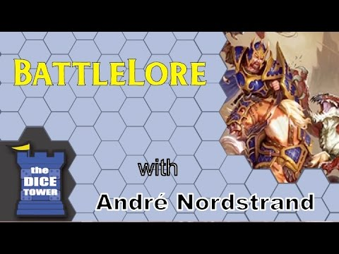 The Dice Tower Reviews: BattleLore - with Takras