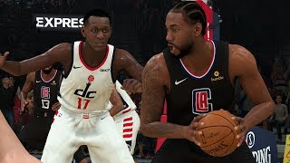 NBA Today 12/8 Los Angeles Clippers vs Washington Wizards Full Game | NBA 2K