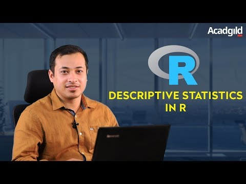 Statistics with R Programming Part 1 | What is Descriptive Statistics ...