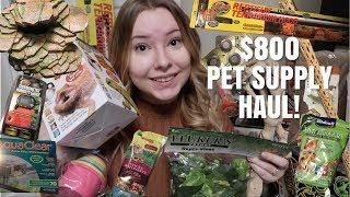 Massive $800+ Pet Supply Haul!
