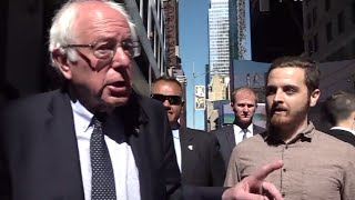 Bernie Sanders to Independent Voter: 'You Have a Right to Vote'