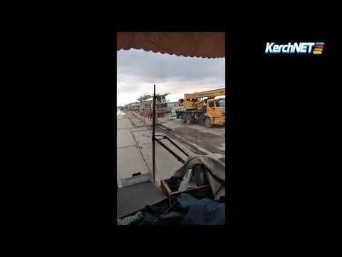Крымский мост: обрушение железнодорожного пролета