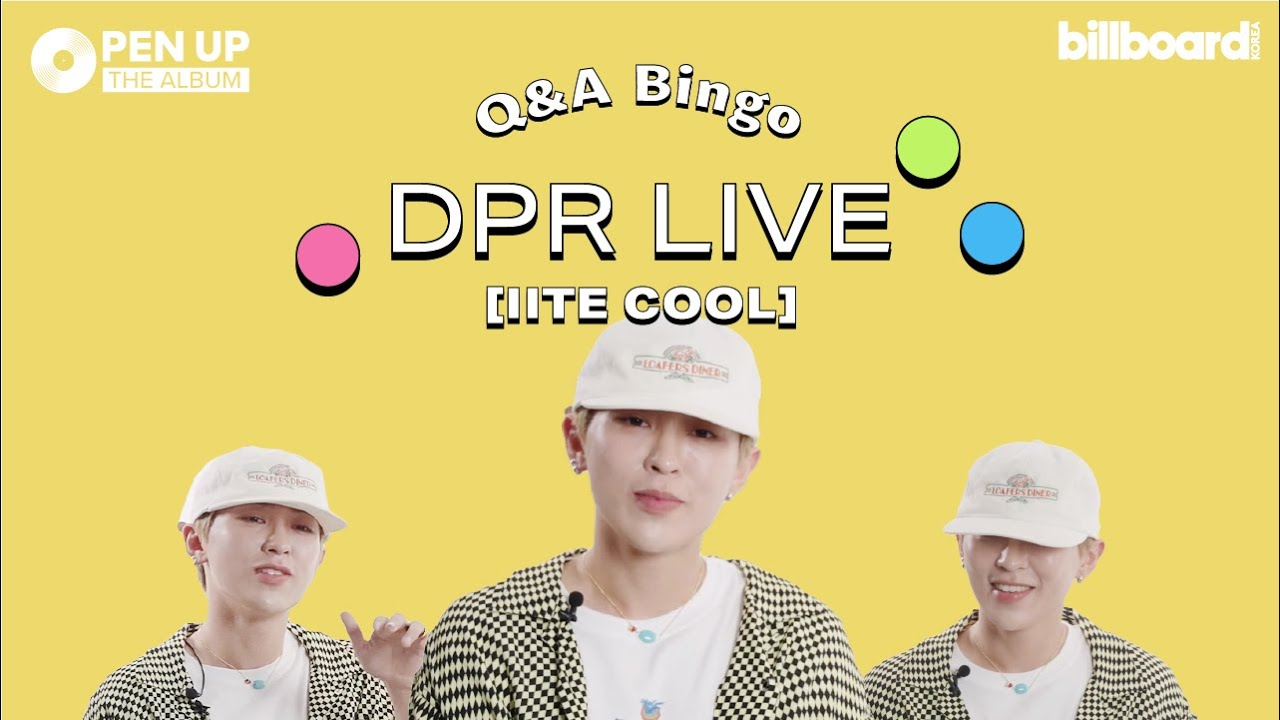 [Open Up The Album] DPR LIVE의 'IITE COOL' 앨범 토크