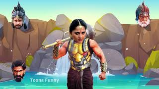 Wrong Heads Top South Movie Bahubali Actresses Fun Video | Guess & Comment Score