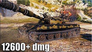 ЖЕЛТЫЙ СПЕЦНАЗ 🌟 12600+ dmg 🌟 Объект 430У World of Tankd рекорд по урону