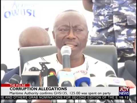 Corruption Allegations - Pulse on JoyNews (30-10-18)