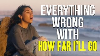 """Everything Wrong With Alessia Cara   """"How Far I'll Go"""""""