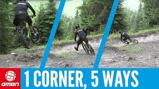 5 Lines 1 Corner | Mountain Bike Skills
