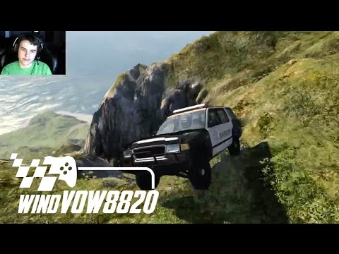 BeamNG.drive - Driving Cars Off Cliffs!