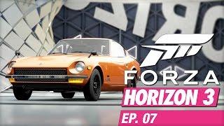 Forza Horizon 3 (Xbox One) - EP07 - Datsun... or, Nissan 240Z!
