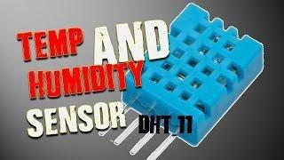 Temperature & Humidity Sensor DHT11 -Tutorial