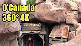 O' Canada - 360° 4K - Epcot - Martin Short Version | Walt Disney World