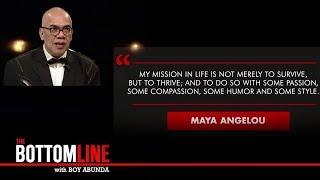 Inspiring message from Boy Abunda | The Bottomline