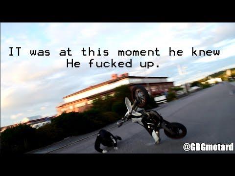 KTM EXC 525 CRASH - Coasting crash