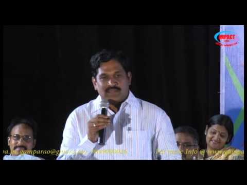 Career Guidance|Krishna Babu|TELUGU IMPACT Hyd 2013
