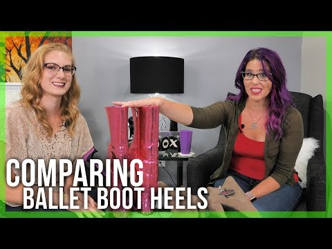 Ballet Boot Stilettos VS Ballet Boot Wedges | Refuse to Be Usual