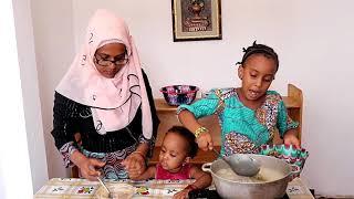 Dry okra soup (Mafe Nama) – Sauce de gombo sec