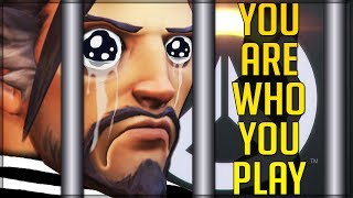 PICK HANZO = YOU'RE A BAD PERSON - Overwatch! (People Banned for Picking Wrong Hero)