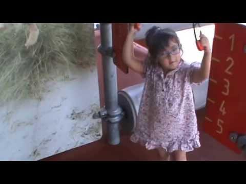 Ver vídeoSíndrome de Down: Violeta en las anillas