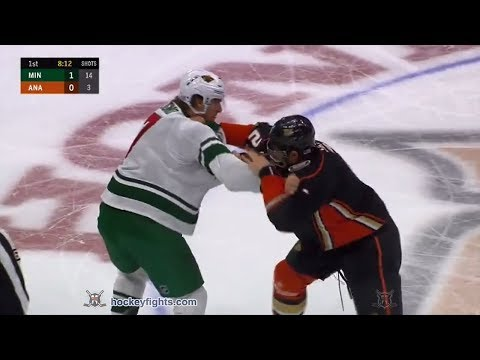 Luke Schenn vs. Marcus Foligno