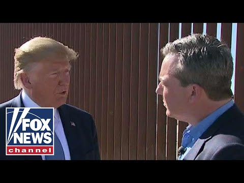 Exclusive: Trump talks to Fox News' Ed Henry at the border